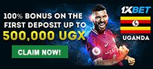 1xbet sports betting in Uganda - best odds and bonus