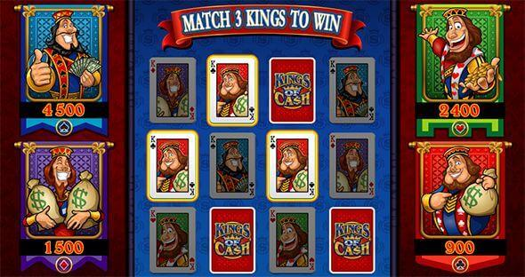 Kings of Cash Mobile slot machine - Bonus game