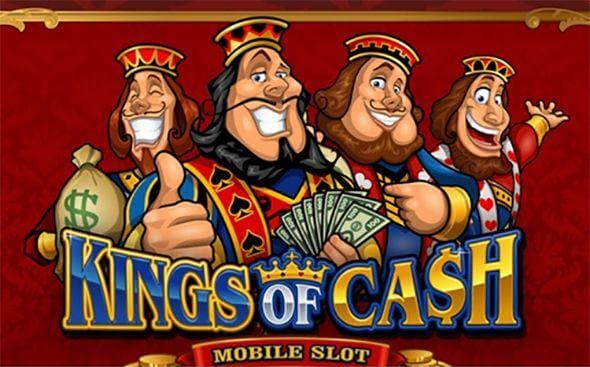 Kings of Cash slot machine logo