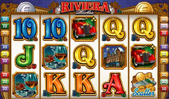 Riviera Riches Slot Game