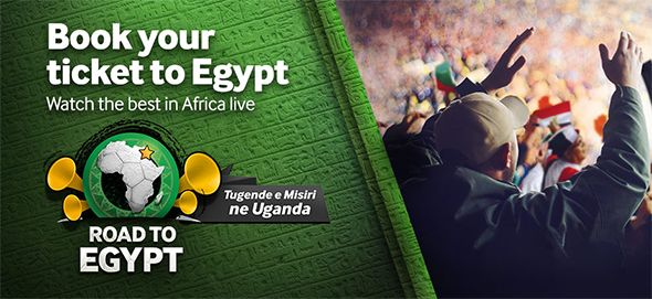 Betway Uganda Road to Egypt