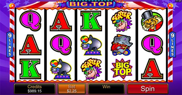 Big Top Mobile Slot Game