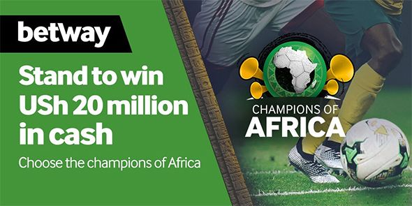 Betway Uganda promotion - Champions of Africa