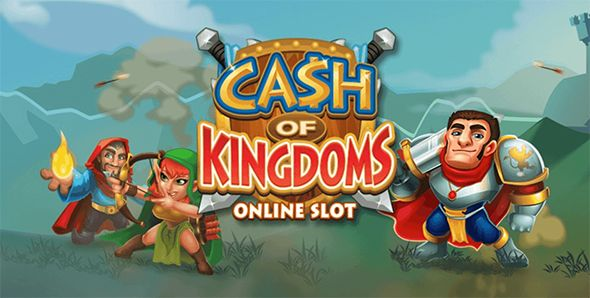 Cash of Kingdoms Online Slot Machine Logo