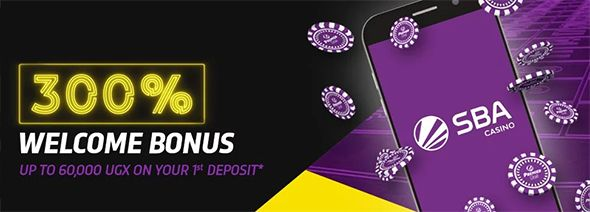 SBA 300% casino welcome bonus