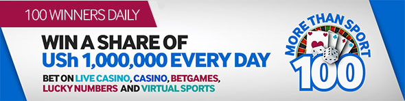 More than Sport Promotion from Betway Uganda